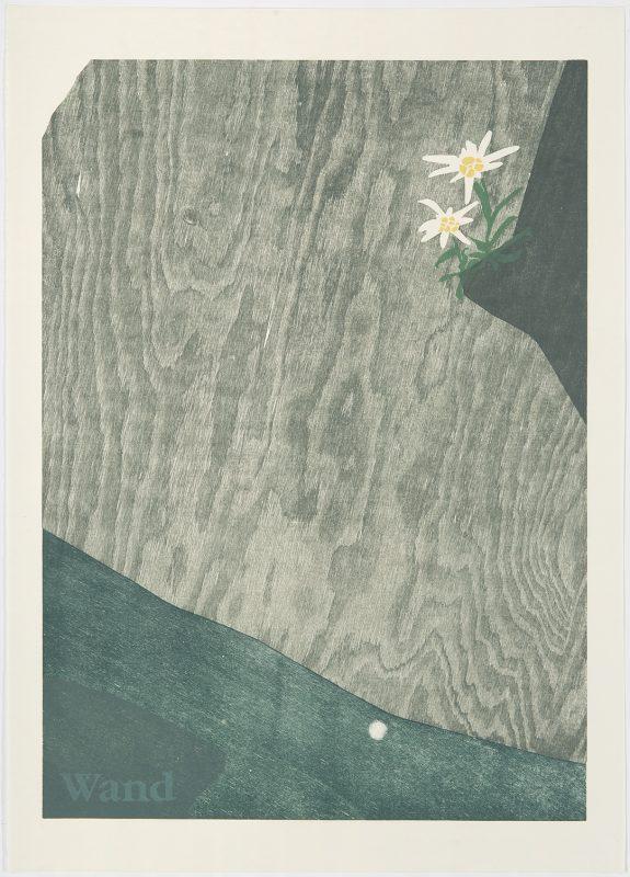 "Tobias Ruppert, ""LEONTOPODIUM ALPINUM"", 2000, Holzschnitt"