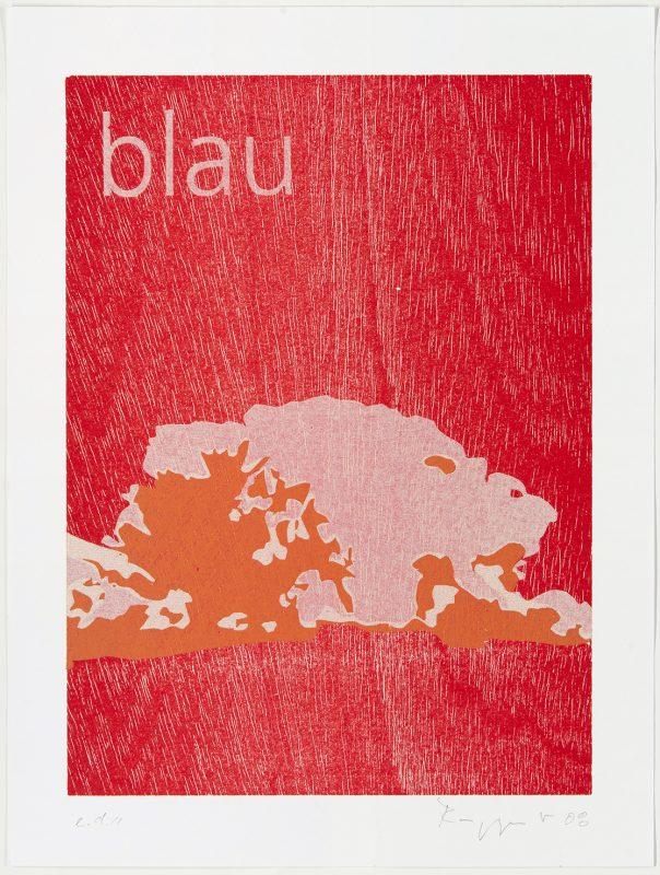 "Tobias Ruppert, ""OSTFILDERNER APHORISMEN_BLAU"", 2008"