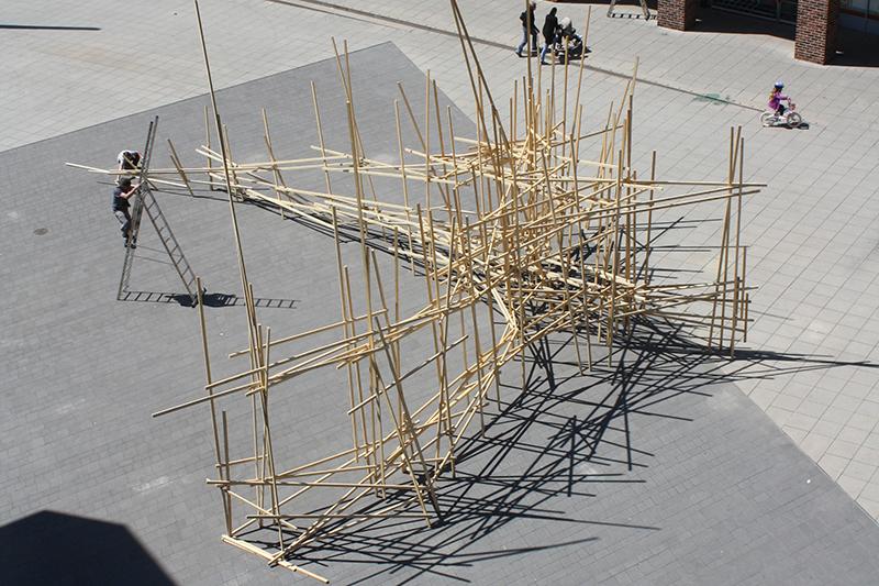 """Künstlergruppe """"grr"""", """"spatial"""", 2012"""