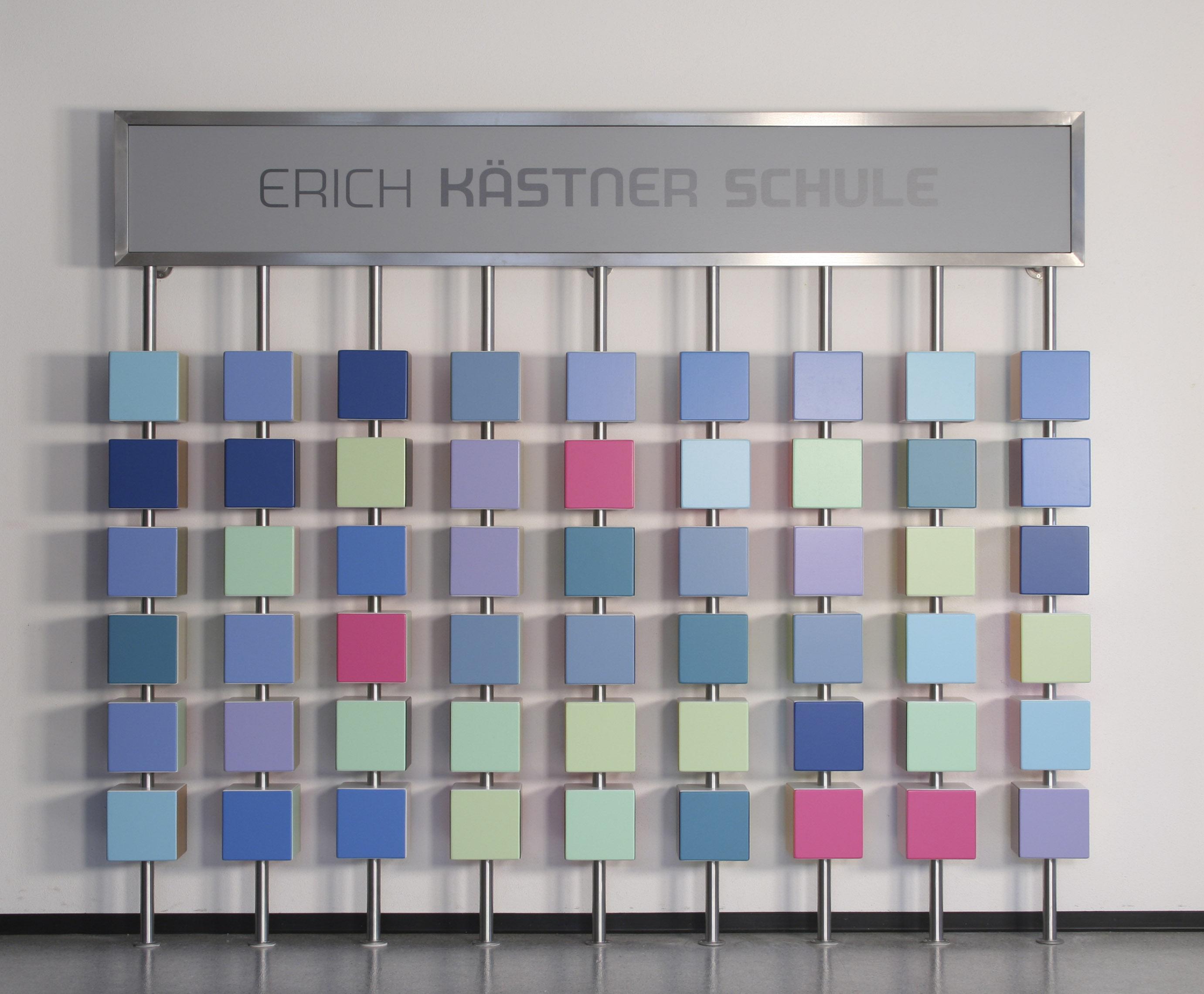 "Tobias Ruppert, ""Wandgestaltung Erich Kästner Schule Ostfildern"", 2007"