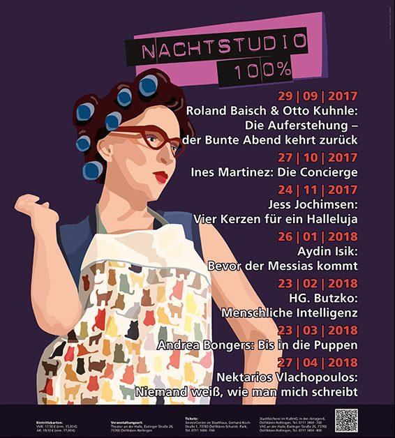 Tobias Ruppert PLAKATNachtstudio2017