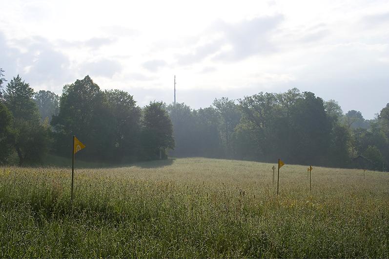 """""""Sichtbarmachung zivilisatorischer Eingriffe in Landschaftsräume. Oder: """"die Körsch"""" 2008/2010"""