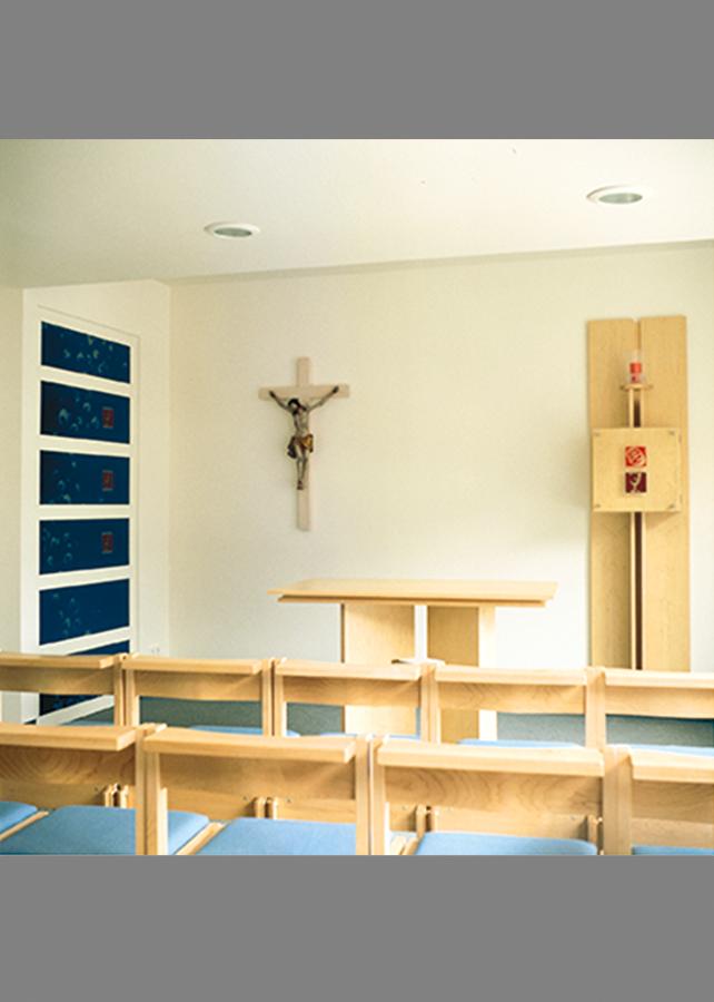 Kunst am Bau Altar Marienhospital