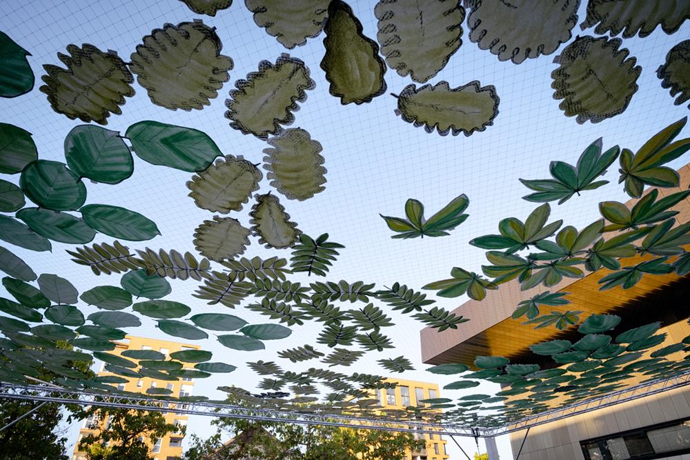 Wald auf Zeit, Platzintervention von Tobias Ruppert 2021
